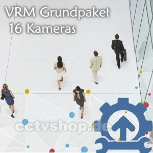 Video Recording Manager Grundpaket | 16 Kameras | MVM-BVRM-016 | F.01U.166.502
