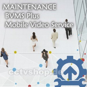 MAINTENANCE | Mobile Video Service | BVMS Plus | MBV-MMVSPLU | F.01U.330.519